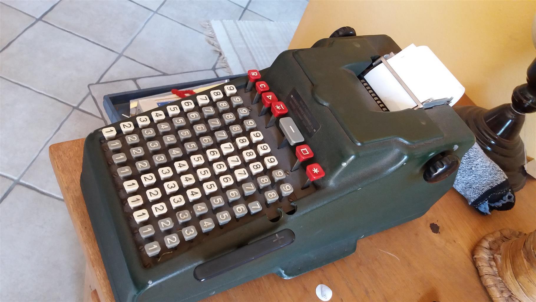 Vintage electric calculator - Addo Model 10