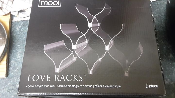 sale sale sale!! wine racks brand new in box