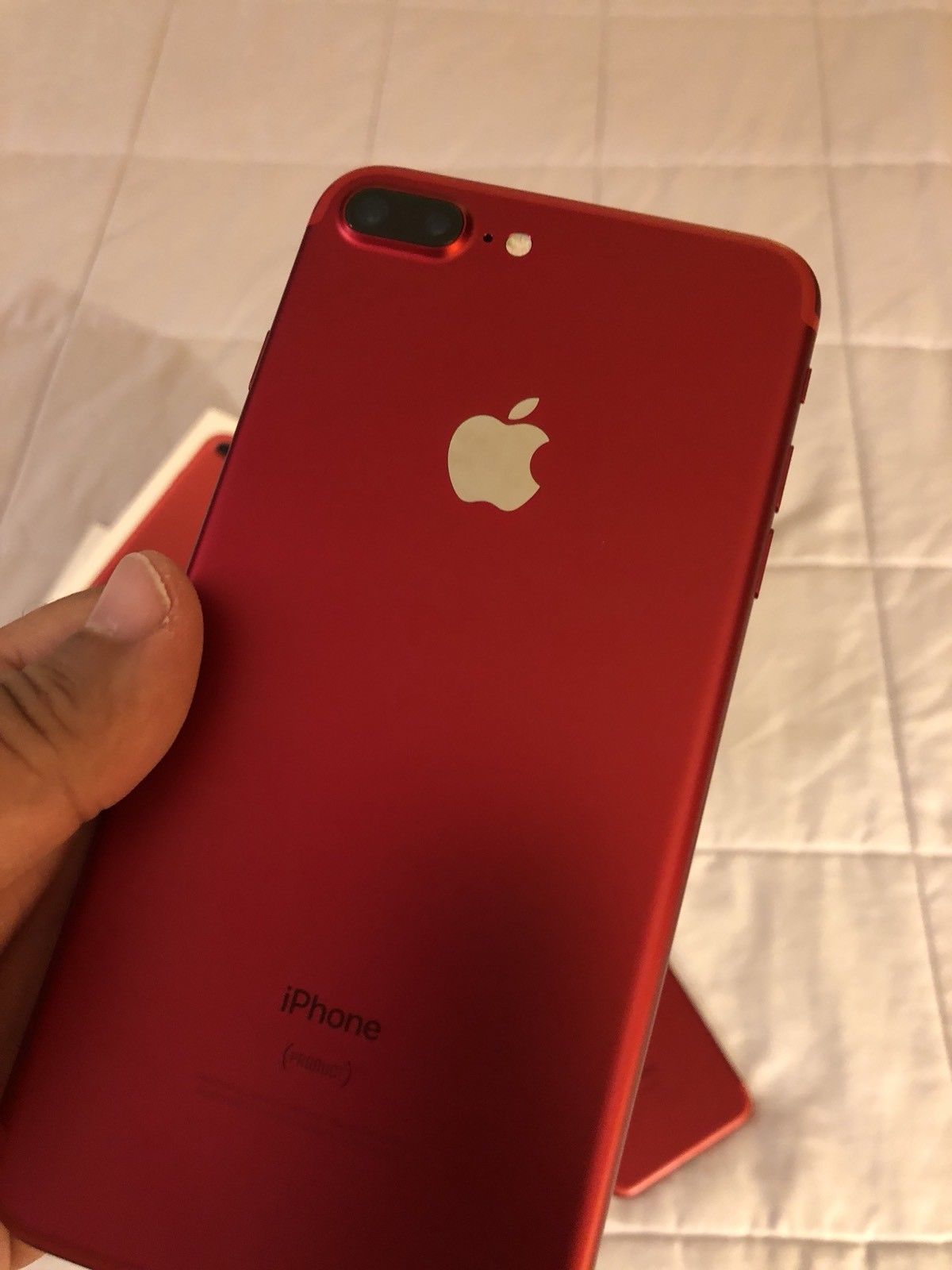 IPHONE 7 PLUS RED USATO