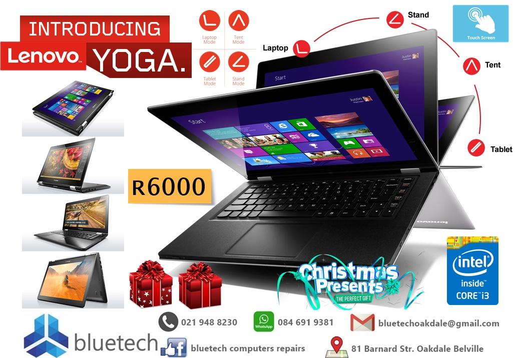 Demo Lenovo Yoga 500 14 touch Core i3, 4GB Ram, 1000GB HHD Bluetech Computers 021 948 8230