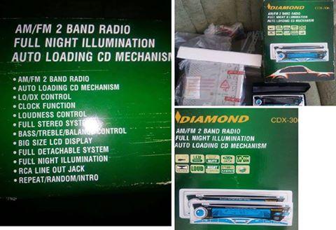 Diamond kar radio