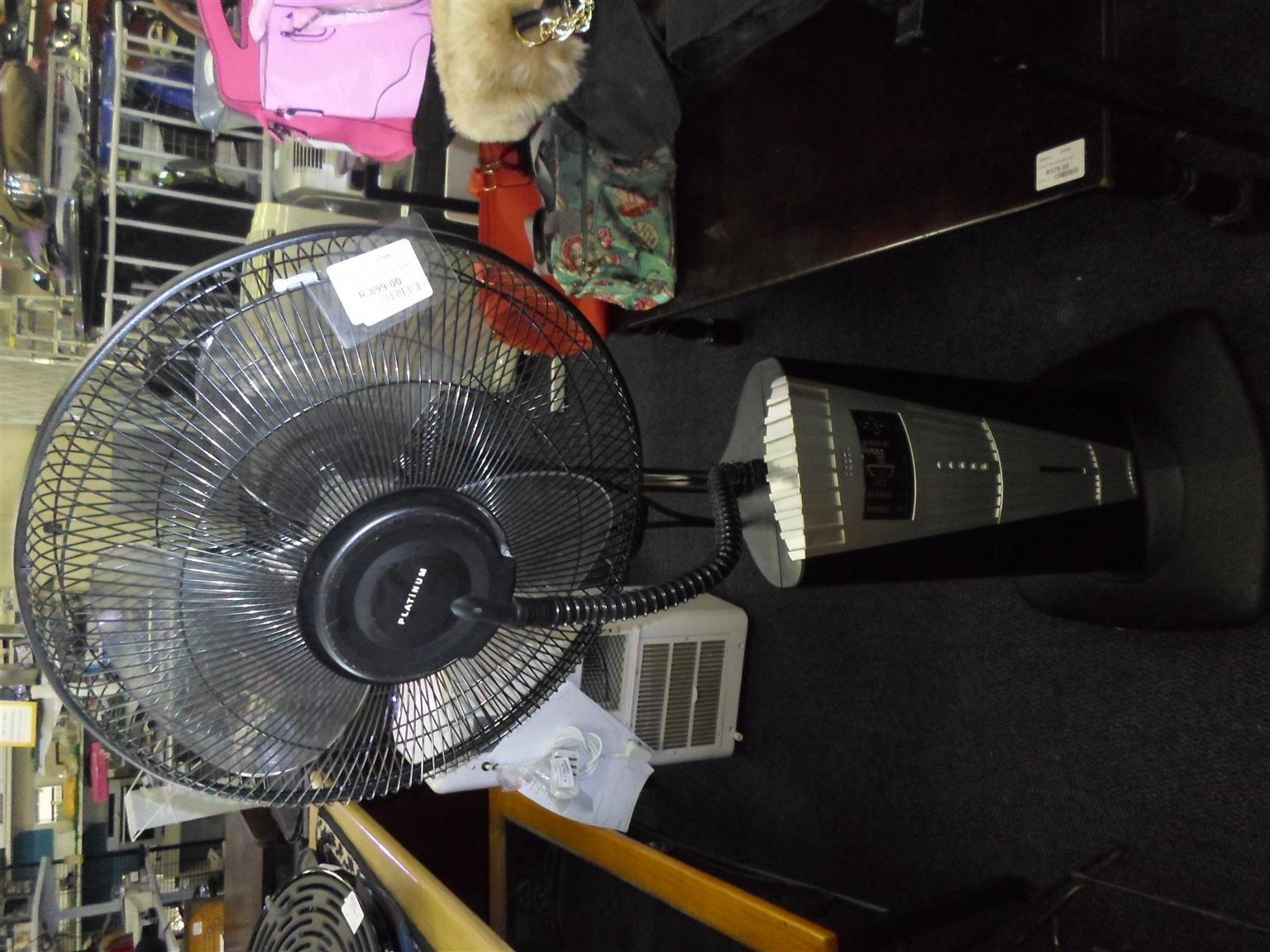 Platinum Steam Fan
