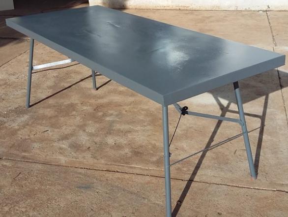 1780mm long (6Ft) steel folding Table