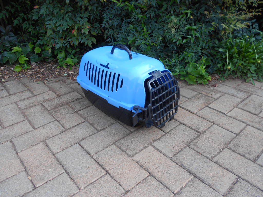 Travel cage for dog or small cat