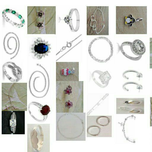 sterling silver jewelry & perfume