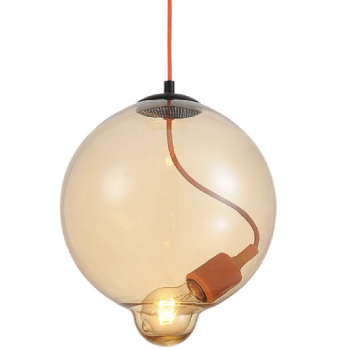 Blow Glass Pendant Light