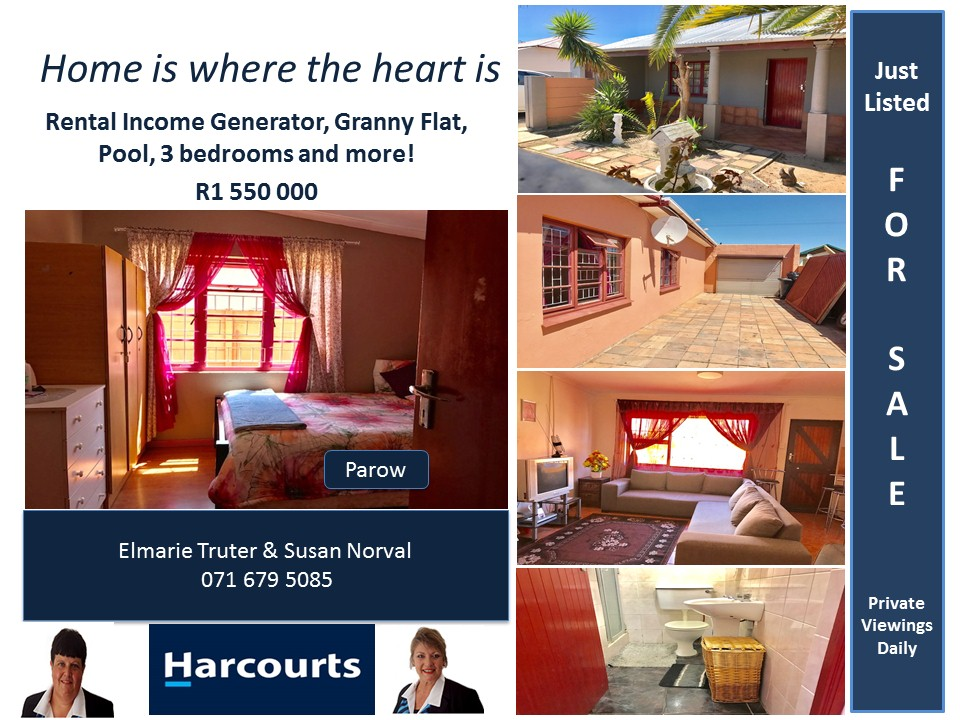 5 bedroom house for sale in Parow !