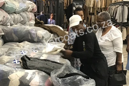 Second Hand Coats And Jackets In Bales For Resale Junk Mail