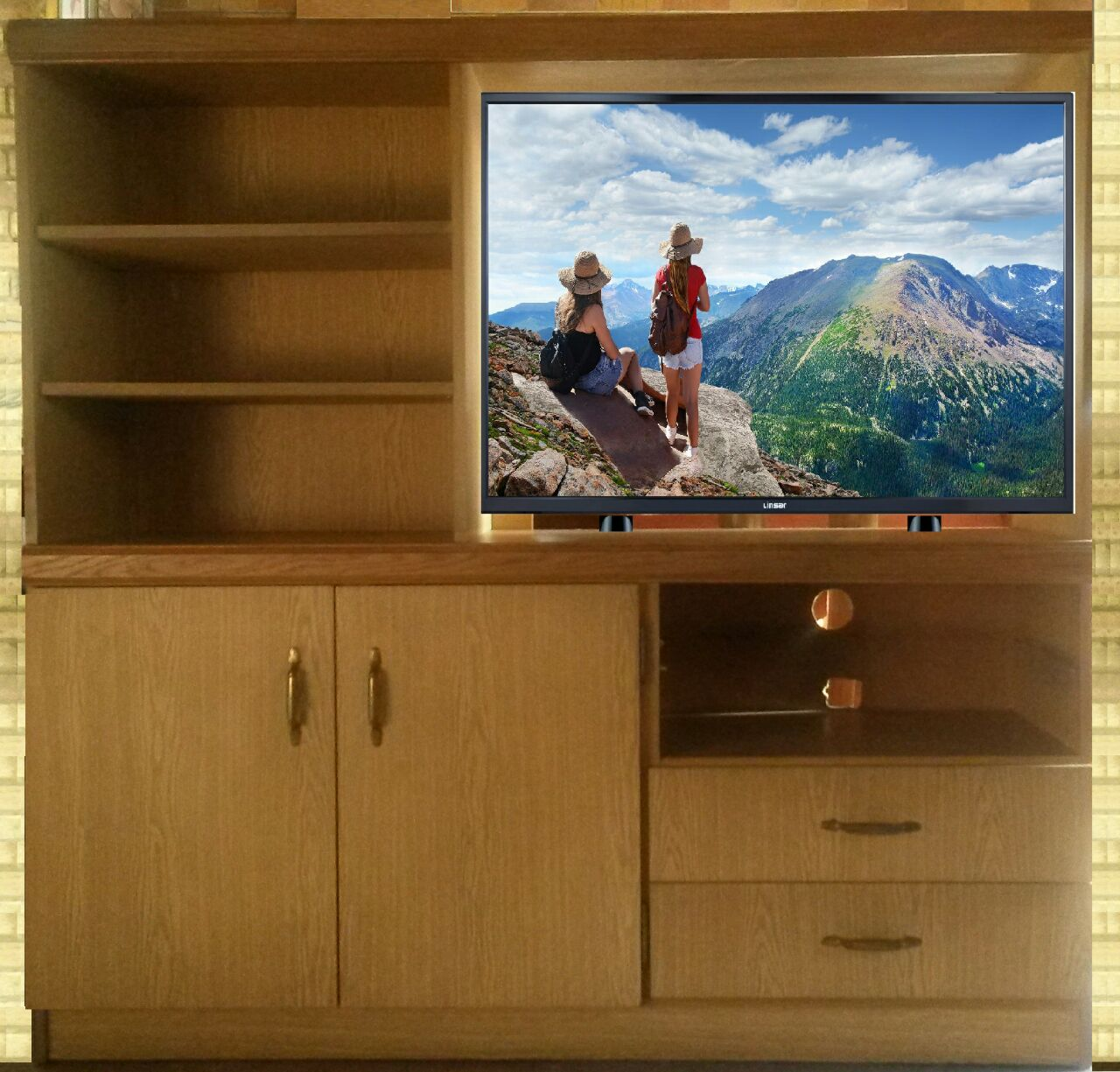 Wall unit 1400 X 1380 mm for sale | Junk Mail