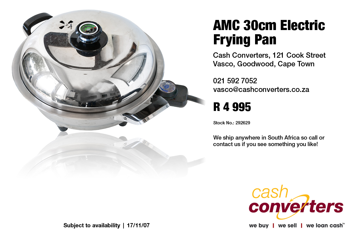 AMC 30cm Electric Frying Pan