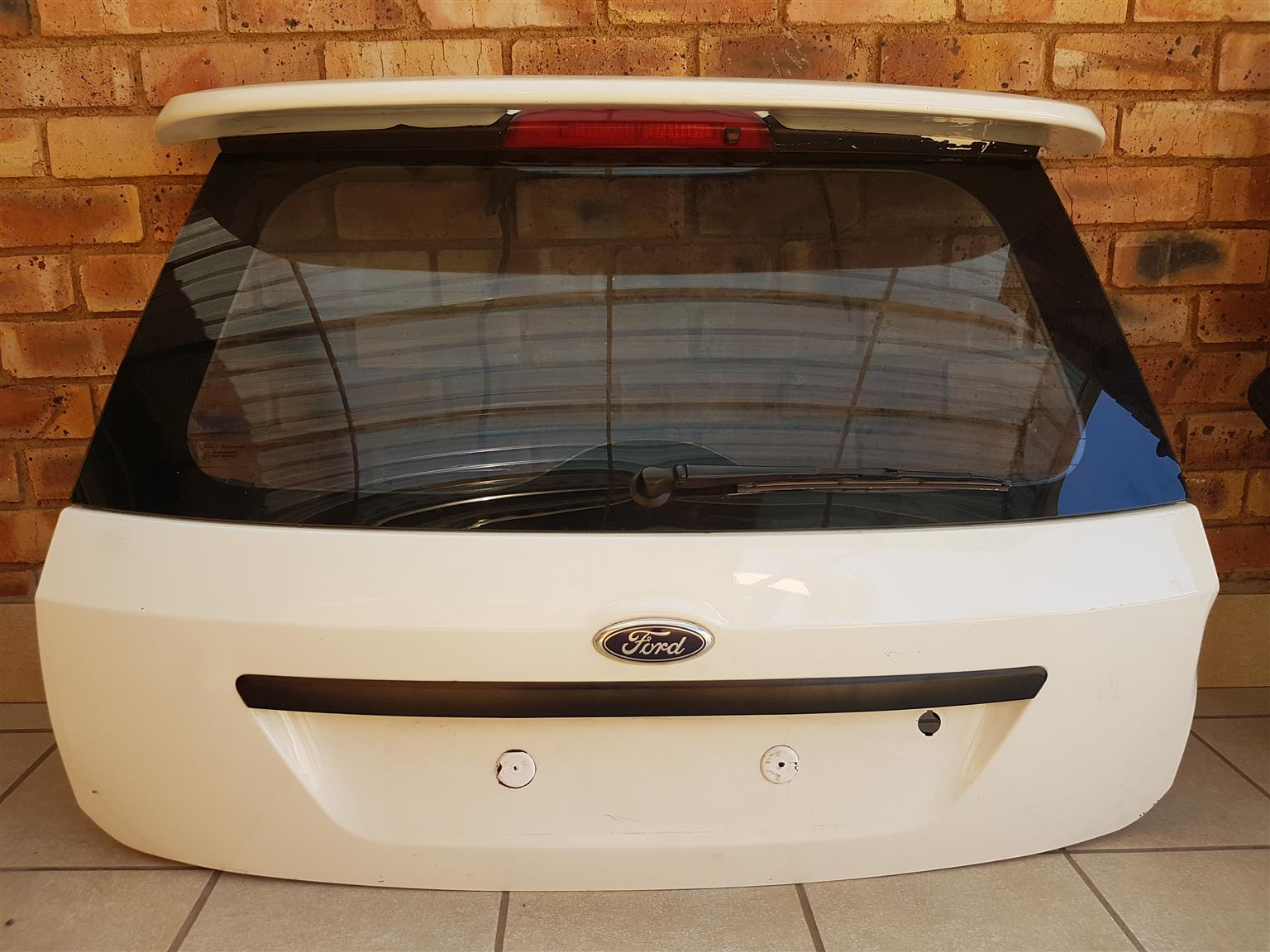 Ford Fiesta Tailgate and Rear Bumper