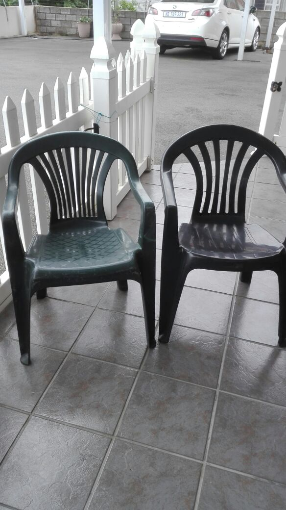 Plastic chairs - bargain