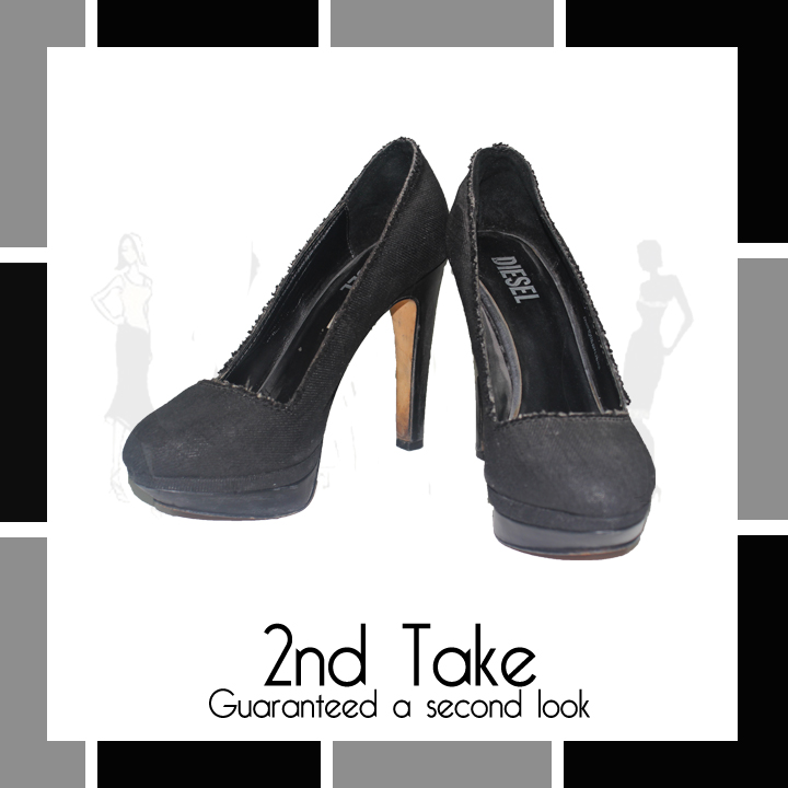 Perfect Second-hand Diesel Heels at a great price from 2nd Take!