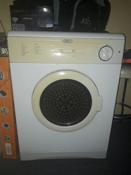 Tumble dryer works 100% just needs new element