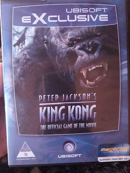 King Kong the game