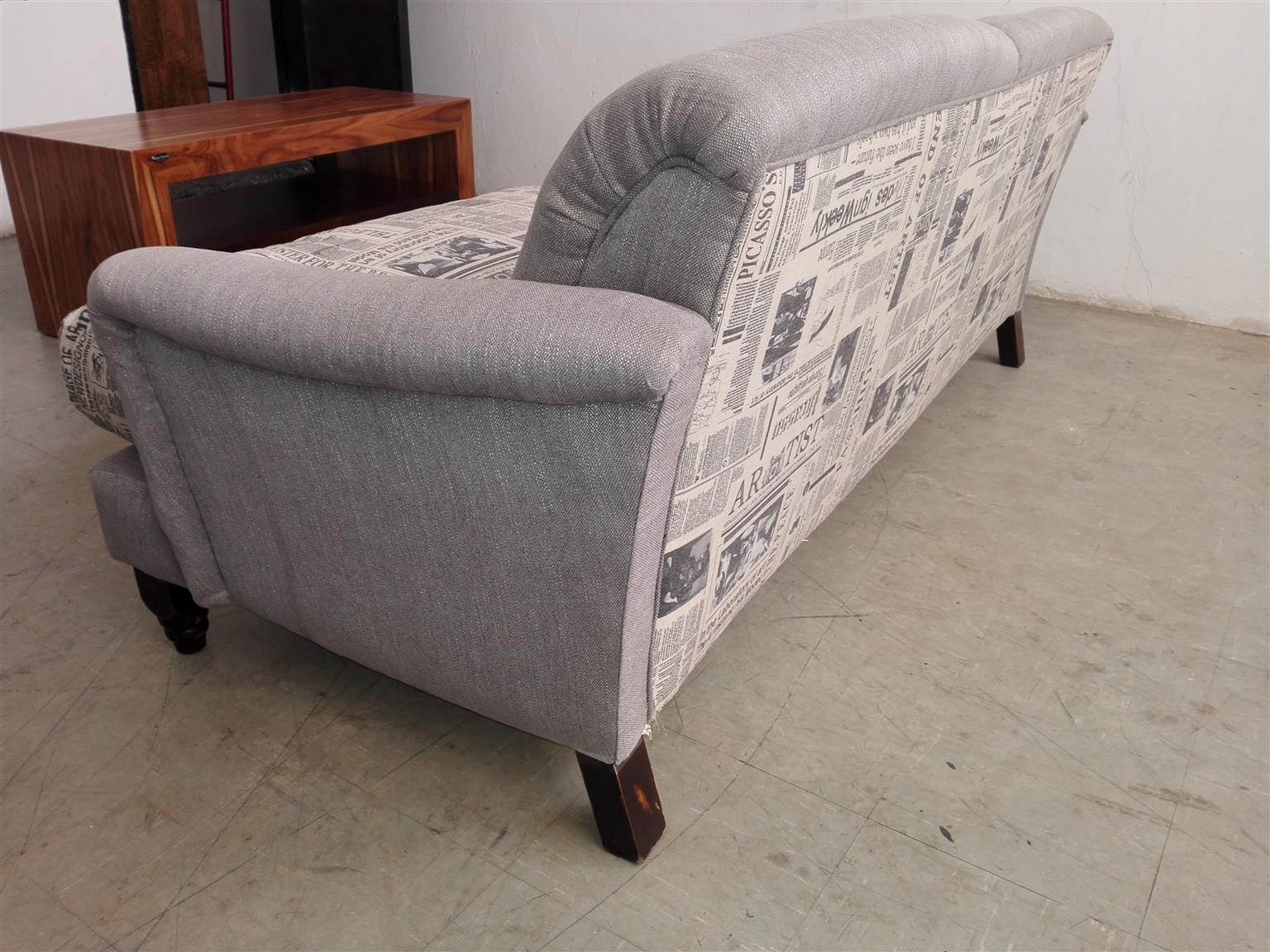 Print 3seater sofa
