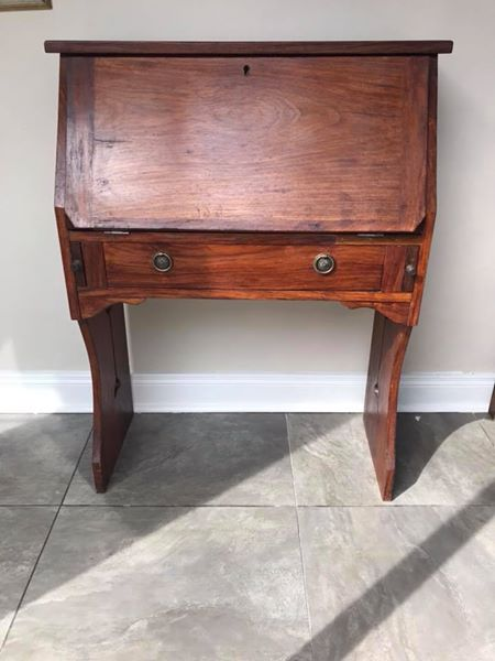 Beautiful oak writing bureau