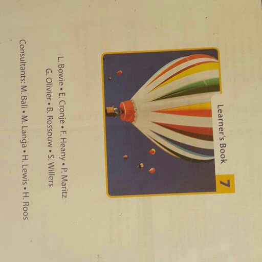 Platinum series Math learners textbook for grade 7 and grade 8. Used condition