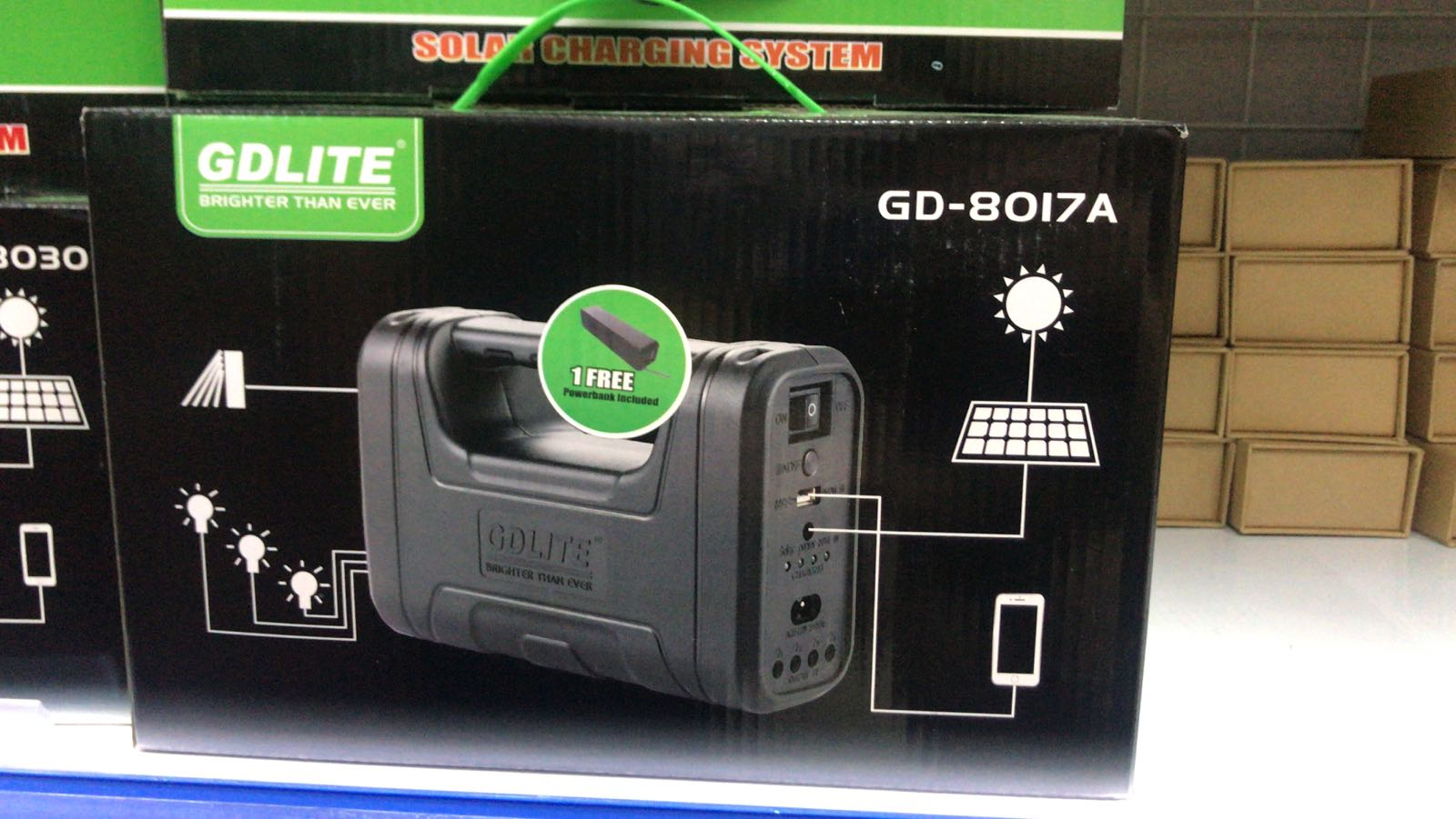 Solar Charging Systems /Rechargeable Digital Light System