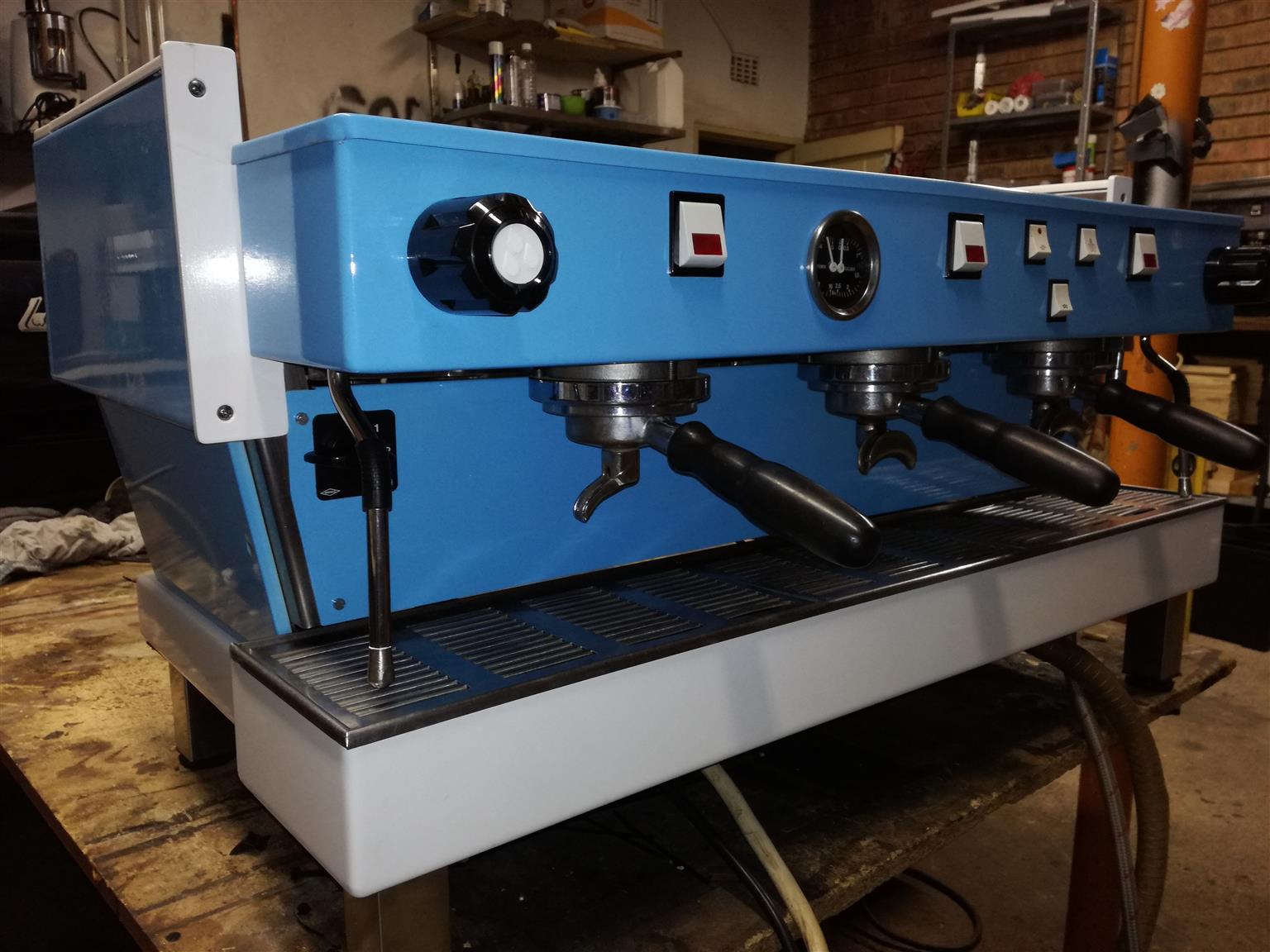 Coffee machine restoration