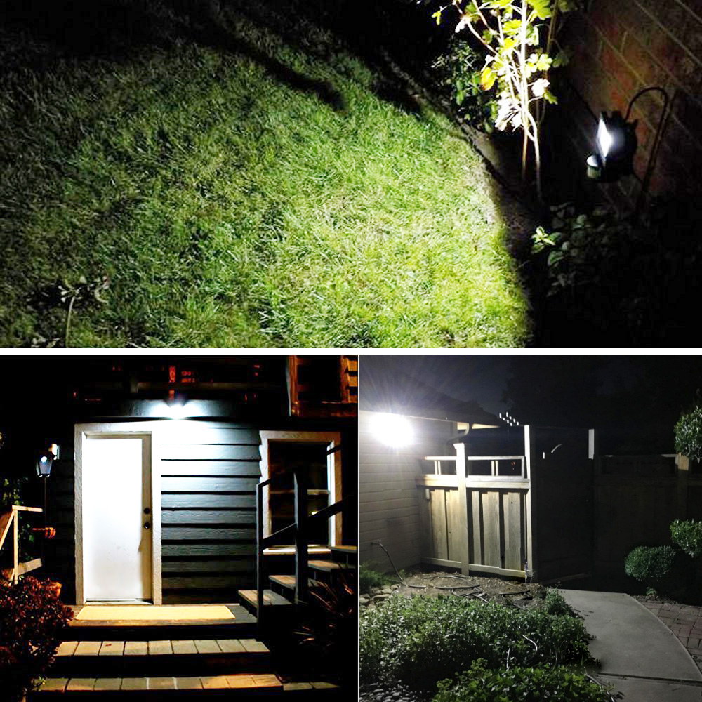 30W LED Floodlight With Pir Sensor, Daylight White, IP65 Waterproof