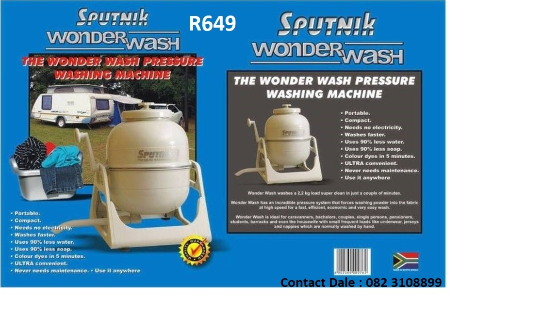 Sputnik Wonder Wash (Mini washing machine - much less water)