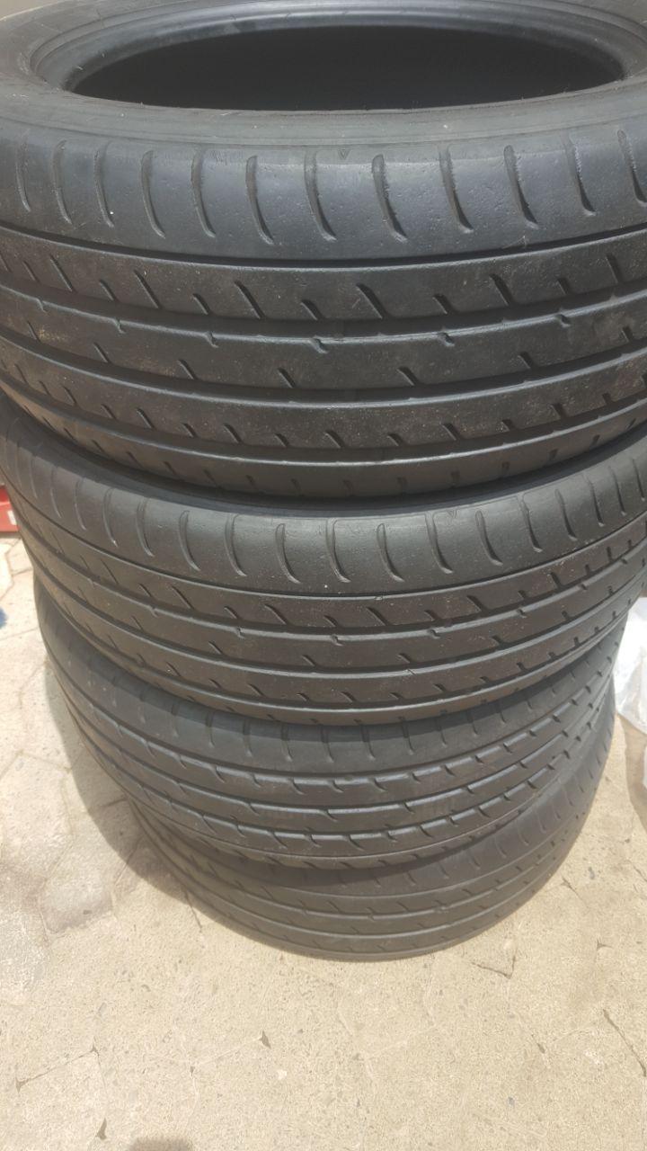 Set 70% tread 255/55/19 Toyo Proxes Tyres R850 each R3400
