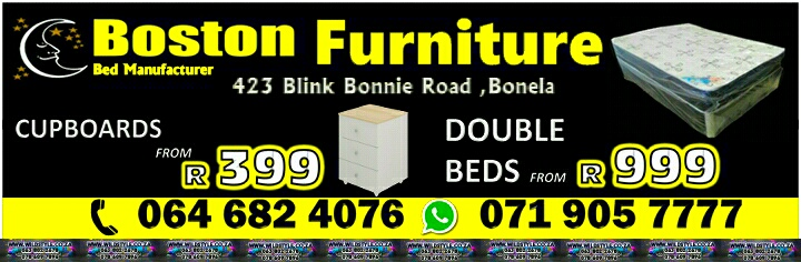 Double beds from R999, single beds from R899 for sale