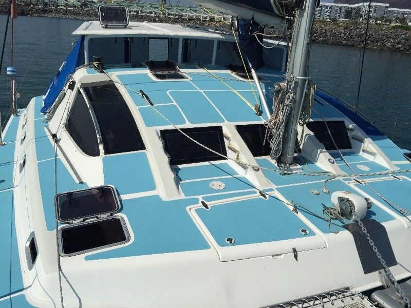 Share in an Admiral 38 Catamaran moored at Royal Cape