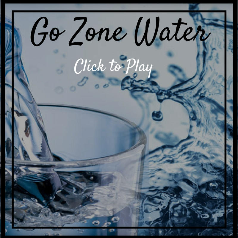 Go Zone water