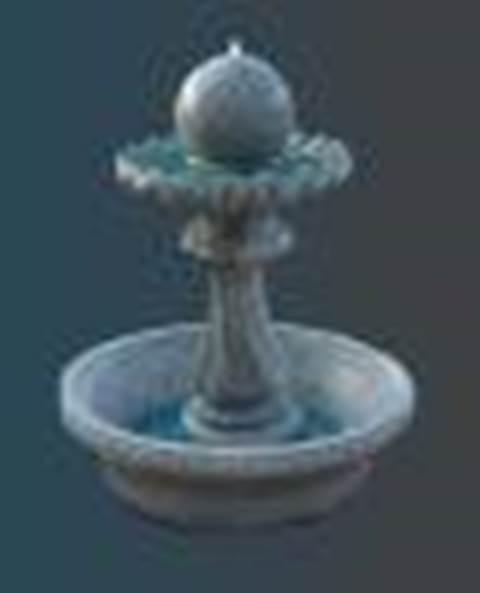 Splash Fountain Including Pump
