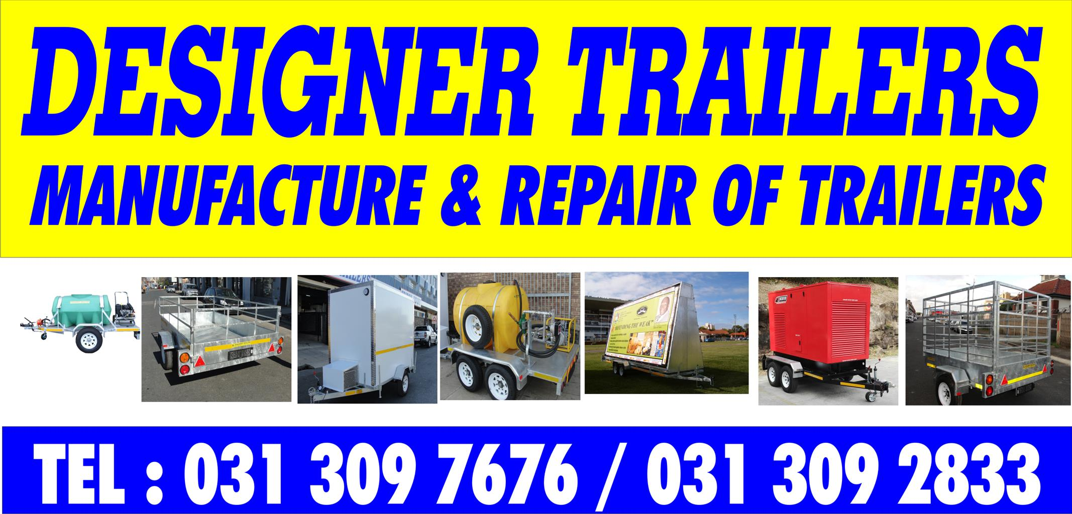 NEW GALVANIZED TRAILERS WITH COR FOR SALE DURBAN