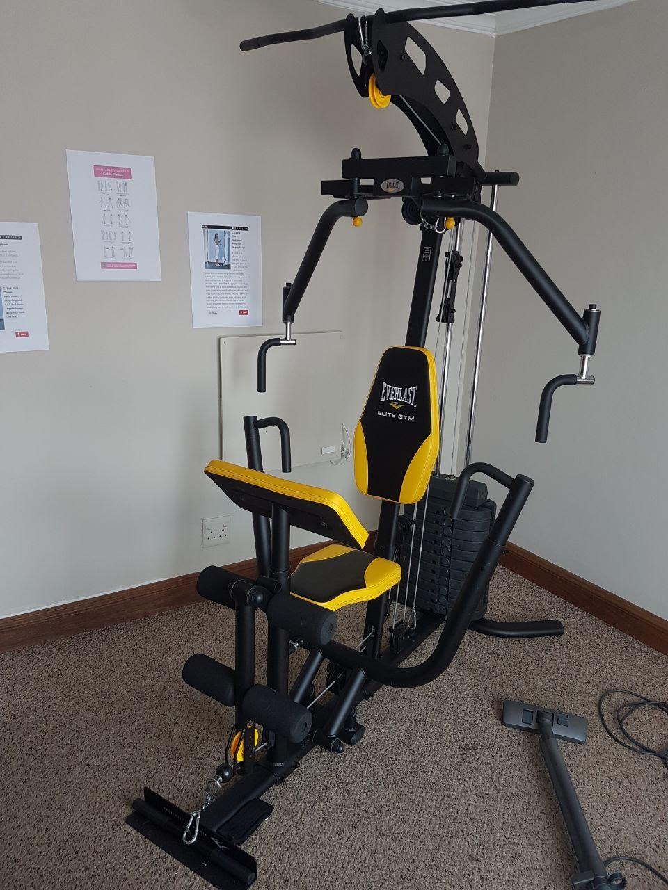 EVERLAST Elite Home Gym Black/yellow