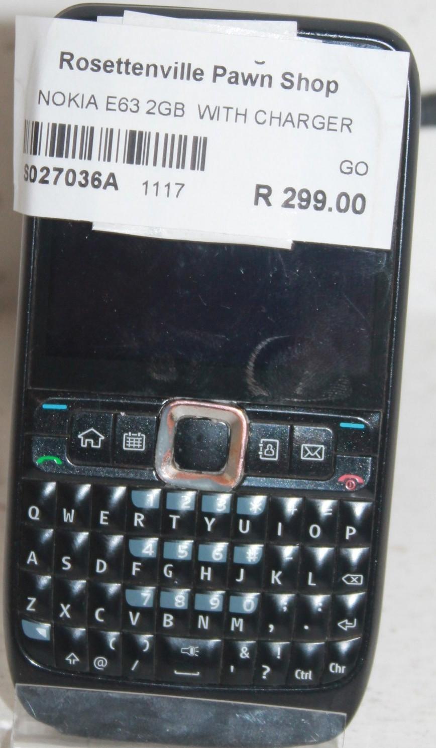 Nokia E63 S027036a #Rosettenvillepawnshop