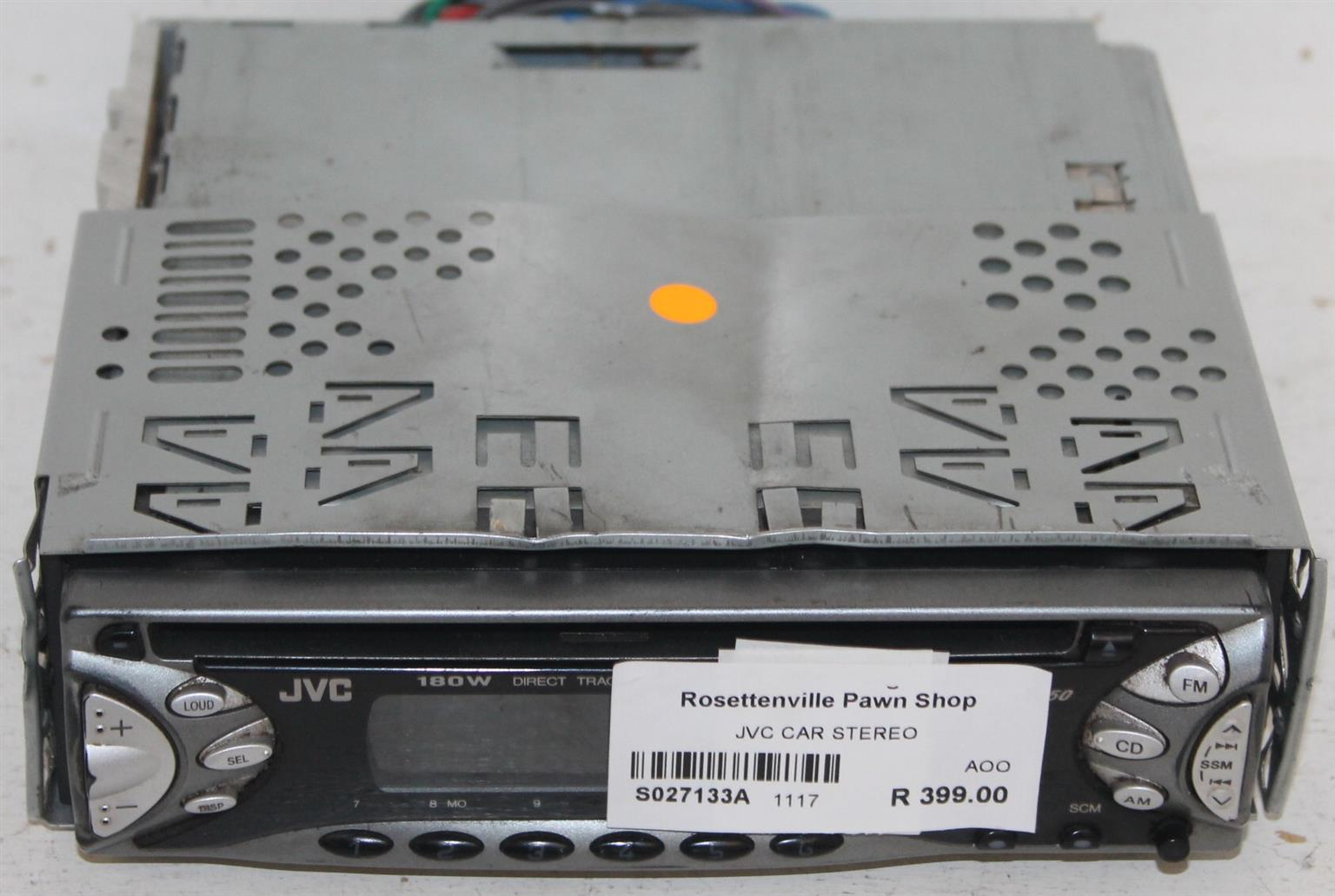 JVC car radio S027133a #Rosettenvillepawnshop