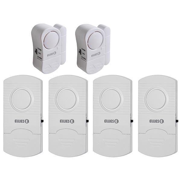 6 Zone Alarm System for Doors / Windows