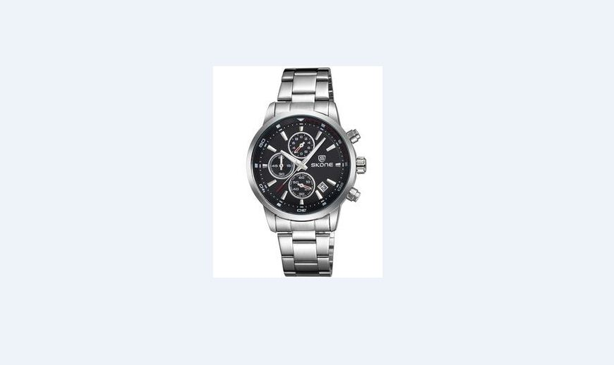 **AS NEW** SKONE mens Chronograph watch TO SELL OR SWOP FOR CELLPHONE
