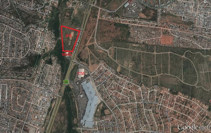 Business and Retail zoned land Chloorkop Tembisa Junk Mail