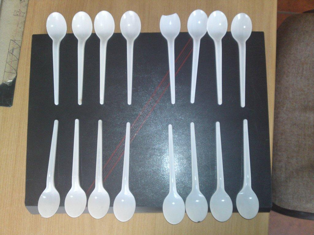 High Output 16 Impression Disposable Cutlery Plastic Injection
