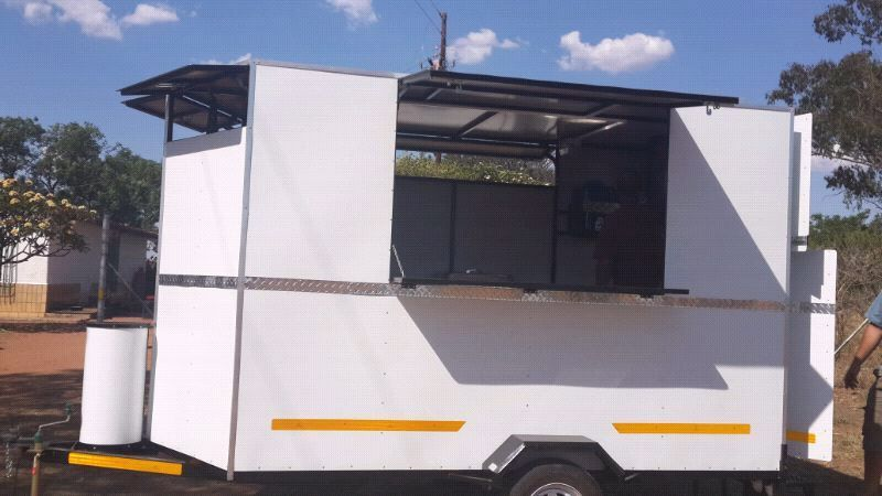 Fully equipped kitchen/food trailers for sale.