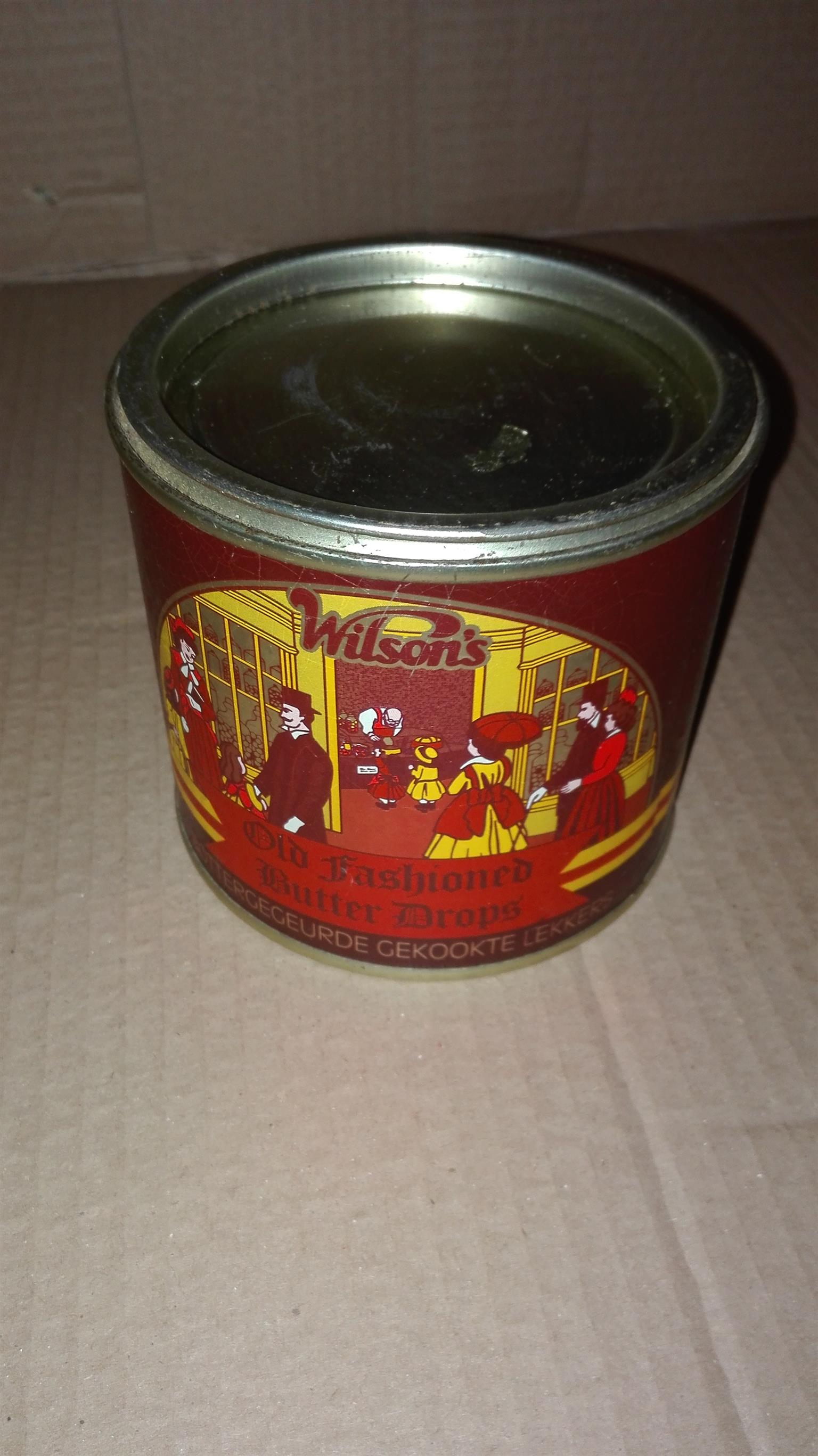 Tins from old to new