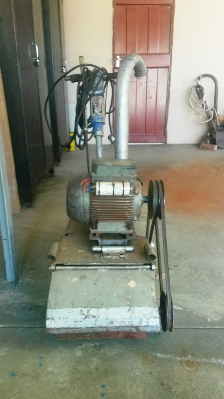 Floor sanding machine for sale Industrial 0826741066