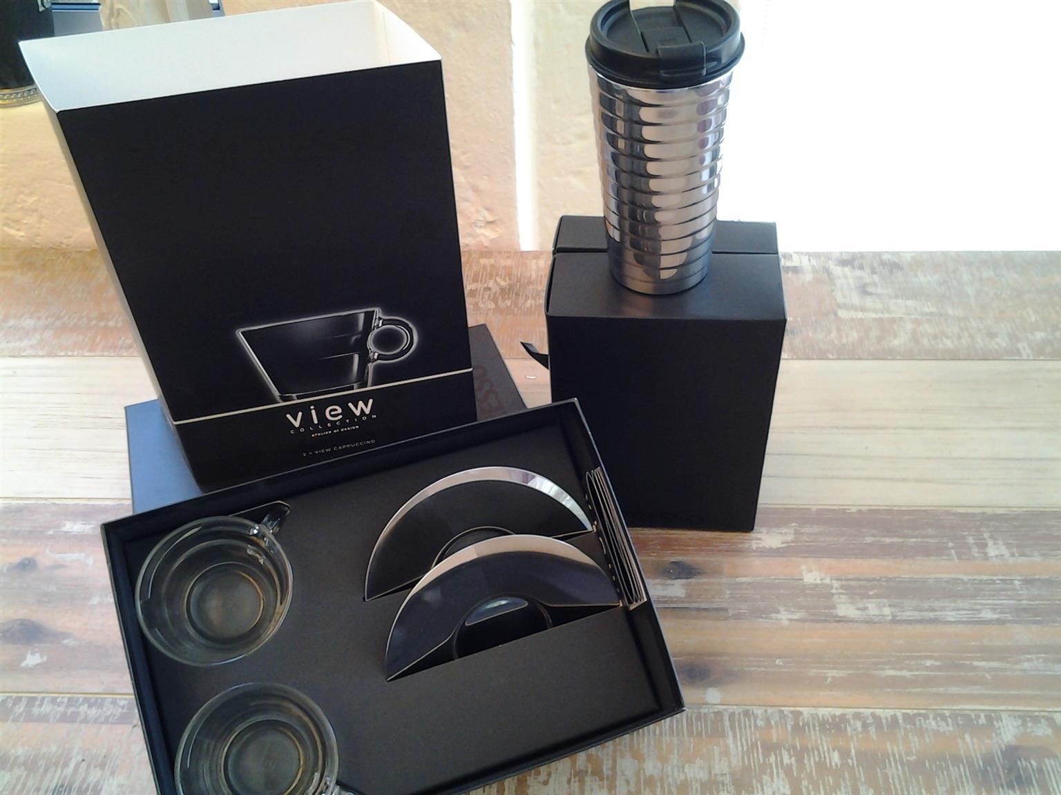 Nespresso Coffee Cups and travel mug