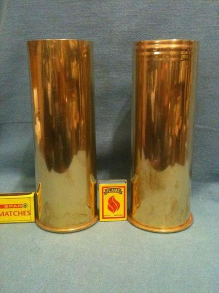 1st. World War Brass Shell.