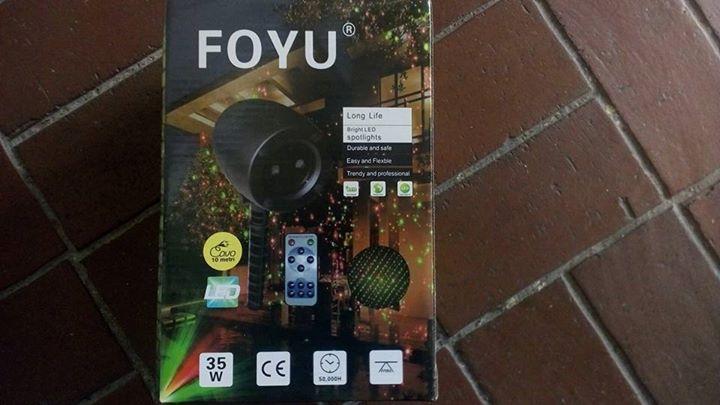 Foyu Home Outdoor Laser Light