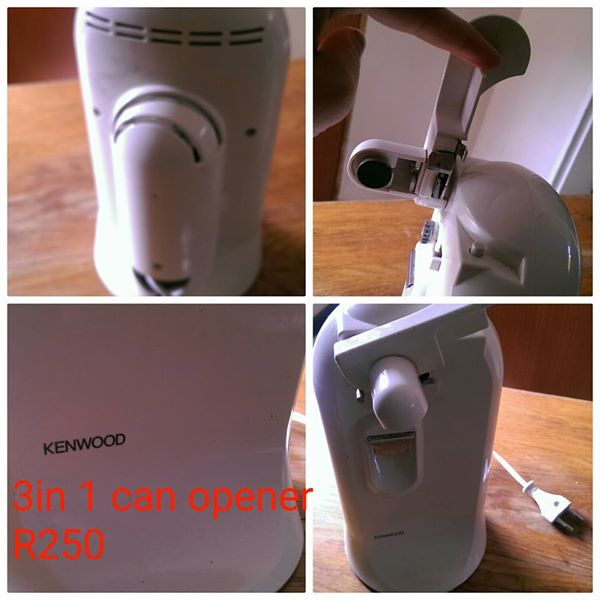 Kenwood 3 in 1 electric can opener