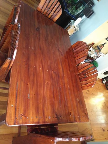 Sea Forever Dining Table R 1 500 For Sale