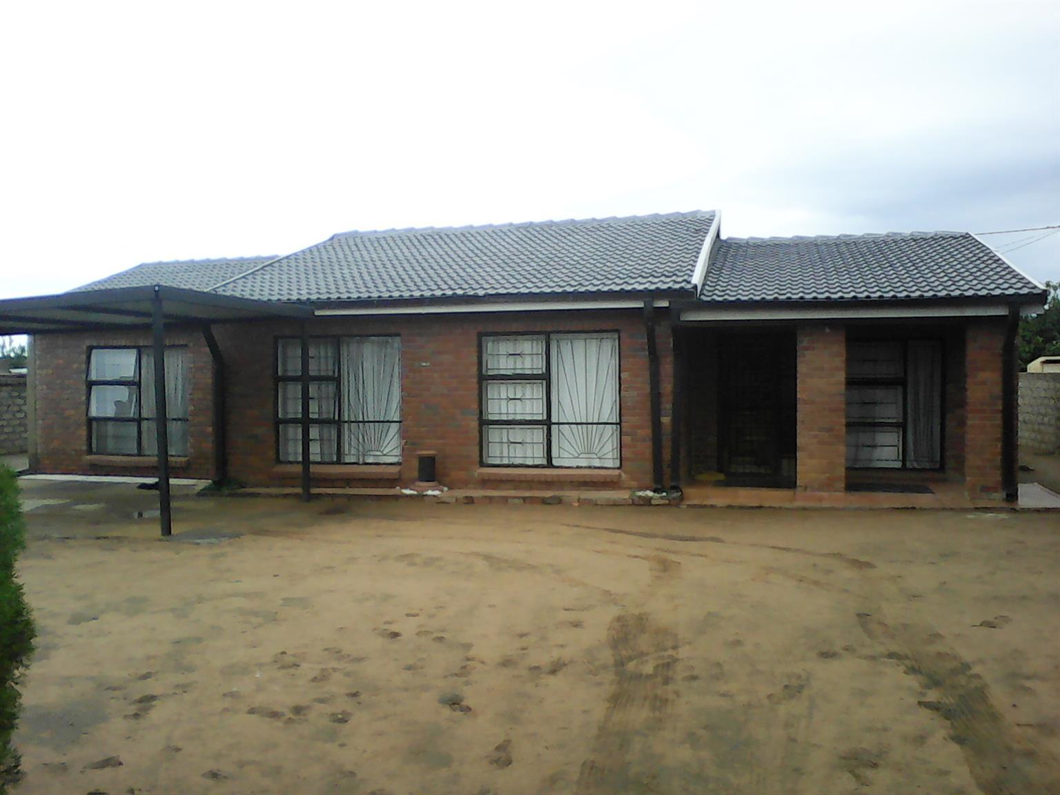 LOVELY HOUSE FOR SALE TAMBO,KUDUBE,HAMMANSKRAAL