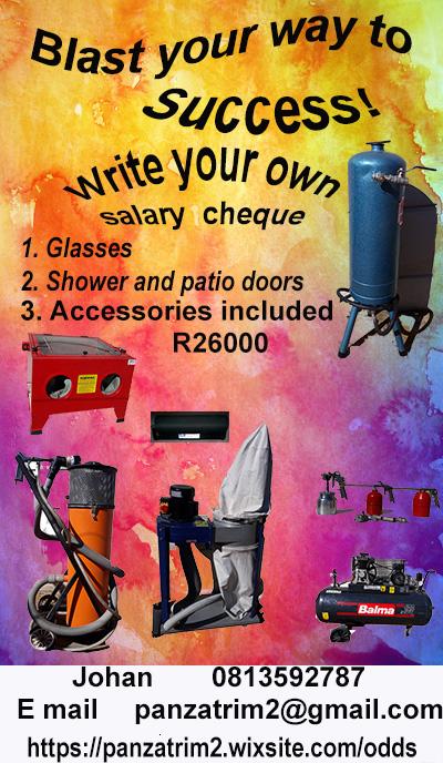 Glass Sandblasting equipment for sale