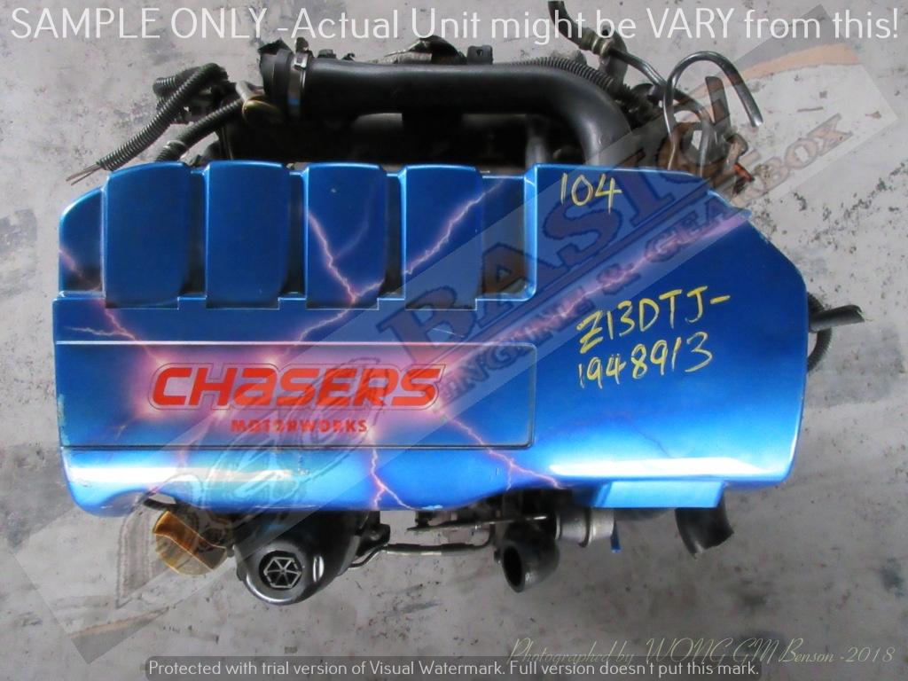 OPEL CORSA C -Z13DTJ 1.3L TURBO EFI 16V Engine